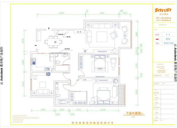合肥装修设计户型图