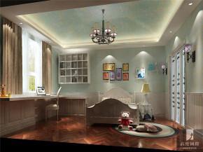 简约 欧式 托斯卡纳 三居 白领 80后 小资 高富帅 白富美 儿童房图片来自北京高度国际装饰设计在温馨鲁能·浪漫7号院的分享