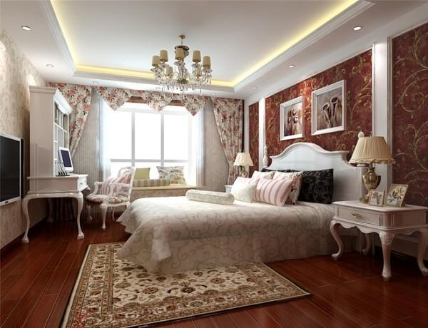 卧室 优雅