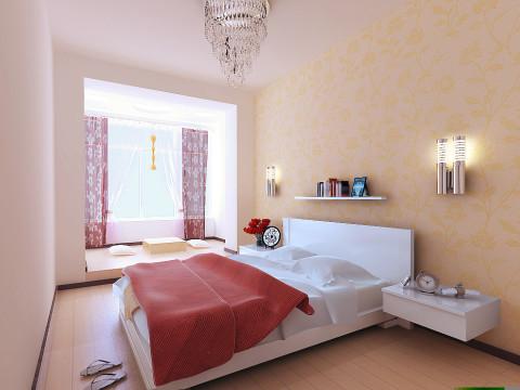 卧室是主人歇息的当地,全体空气温馨舒适,不需做过多冗杂的调配。