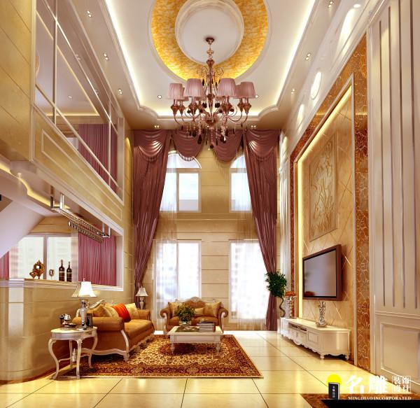 名雕装装饰设计—客厅