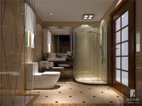 简约 现代 二居 白领 80后 小资 高富帅 白富美 卫生间图片来自北京高度国际装饰设计在江南山水你我的家的分享
