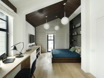 三效合一的质感卧室设计