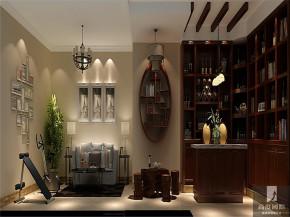 简约 现代 三居 公寓 白领 80后 小资 高富帅 白富美 书房图片来自北京高度国际装饰设计在长滩壹号院现代风格大气之城的分享