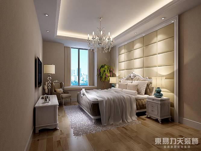 简欧 卧室图片来自东易力天装饰在后奢华的分享