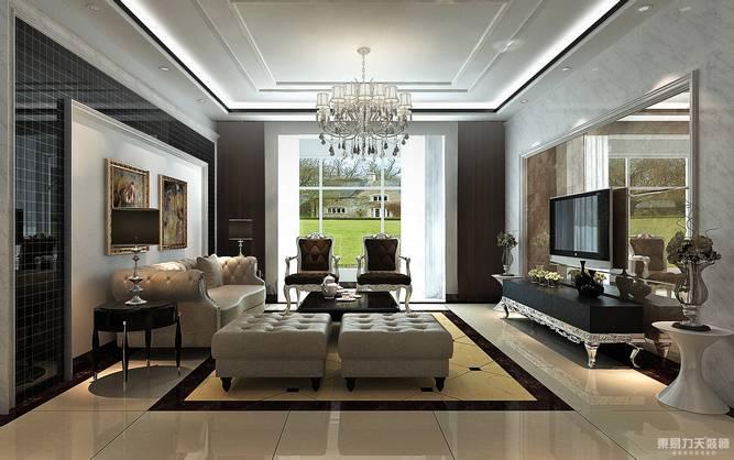 简欧 客厅图片来自东易力天装饰在后奢华的分享