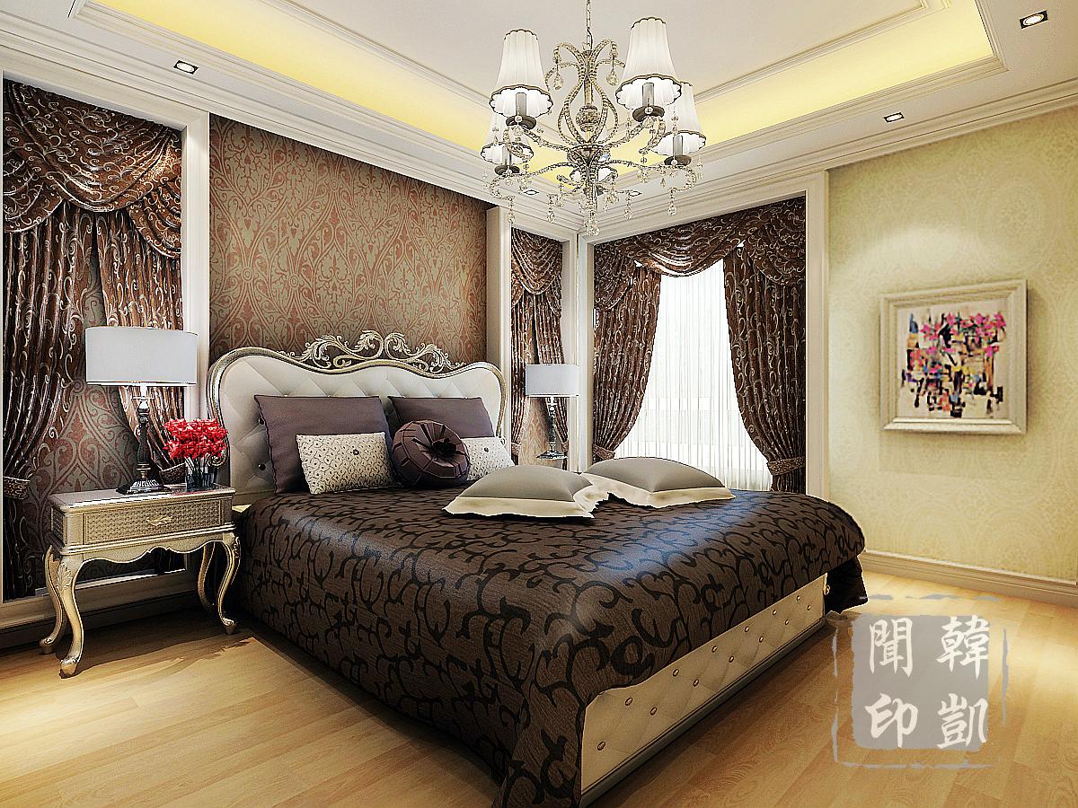 新古典 后奢 欧式 奢华 大平层 四居 卧室图片来自东易力天-韩凯闻在后奢-沉淀欧式新奢华的分享