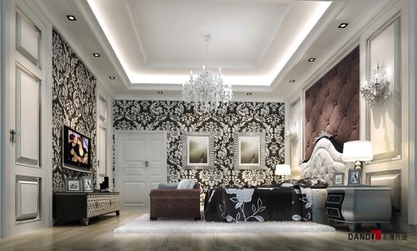 名雕丹迪设计—-世纪新城别墅-卧室
