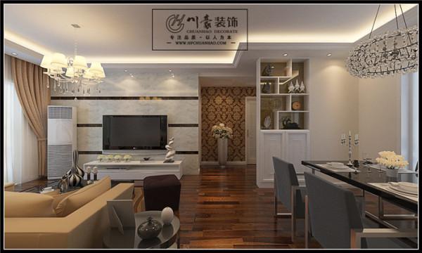 本案主打简约欧式风格,对于空间和细节的把握与众不同,结合住宅的特点,运用了大量别出心裁的设计。为了营造出丰富的效果,整个设计采用了大量不同的材料、线条以及图案,不同的特点产生不同的美感。川豪张凌