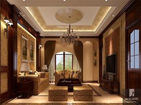 简约 美式 别墅 白领 80后 小资 公寓 高富帅 白富美 客厅图片来自北京高度国际装饰设计在新新家园美式别墅的分享