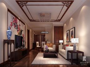 简约 中式 二居 白领 80后 小资 高富帅 白富美 高度 客厅图片来自北京高度国际装饰设计在筑华年·新中式公寓的分享