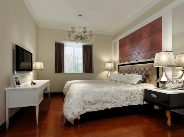 背景墙的软包搭配使得和整个客厅空间所呼应。