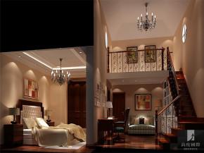 简约 美式 别墅 白领 80后 小资 公寓 高富帅 白富美 卧室图片来自北京高度国际装饰设计在新新家园美式别墅的分享