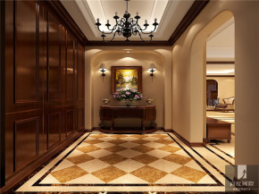 简约 美式 别墅 白领 80后 小资 公寓 高富帅 白富美 玄关图片来自北京高度国际装饰设计在新新家园美式别墅的分享