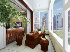 小资 白领 高富帅 阳台图片来自合建装饰王清贤在花雨汀的新中式设计的分享