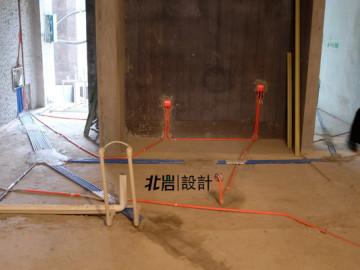 江雁依山郡 现代美式  水电中