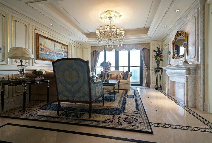 五室两厅装 新房装修 豪华装修 欧式装修 客厅图片来自广州-实创装饰在看五室两厅205平米怎么装修?的分享