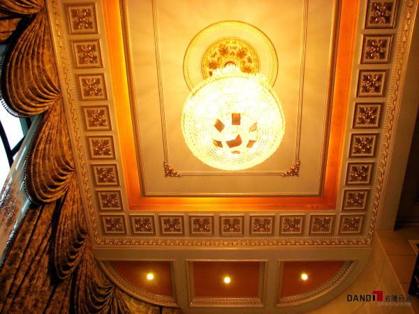 名雕丹迪设计-集信名城别墅-古典欧式客厅吊灯