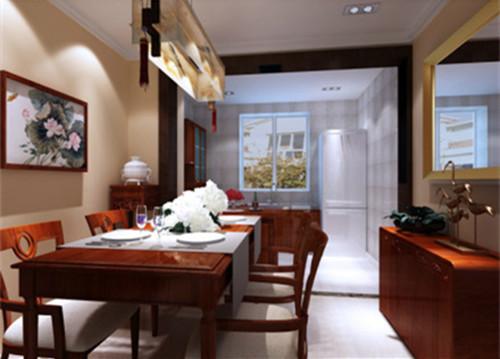 三居 白领 餐厅图片来自华埔装饰公司--江旭在新中式风格的分享