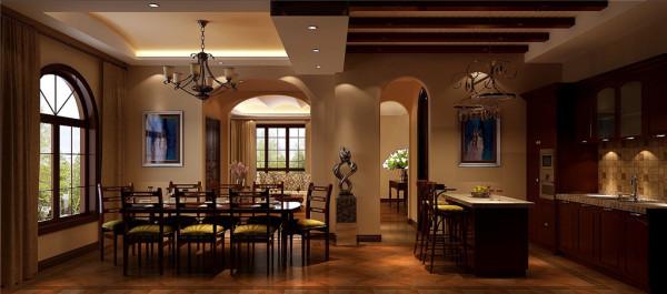 天竺新新家园——餐厅效果图