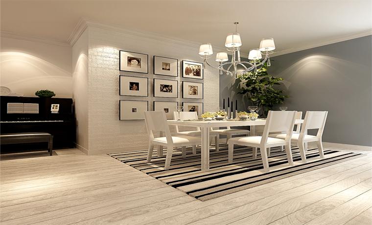 简约 欧式 别墅 餐厅图片来自华埔装饰公司--江旭在现代前卫,别墅大宅的分享
