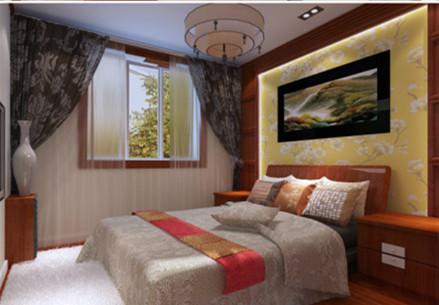 三居 白领 卧室图片来自华埔装饰公司--江旭在新中式风格的分享