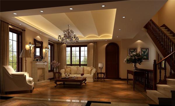 天竺新新家园——客厅效果图