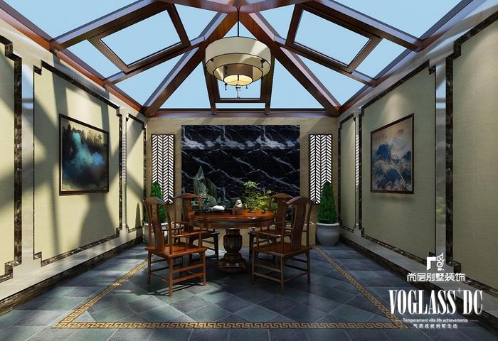 欧式 别墅 白领 客厅 餐厅 卧室 卫生间 其他图片来自北京别墅装修案例在大气自然的简欧风格的分享