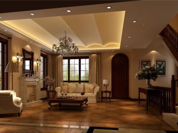 天竺新新家园美式古典装饰设计