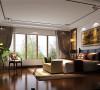 西山一号院三居室新中式设计案例