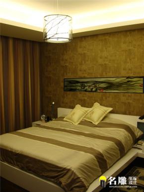 现代 三居 白领 80后 名雕装饰 文艺青年 卧室图片来自杜鸿业----名雕丹迪设计总监在现代风格-140平时尚温馨三居室的分享