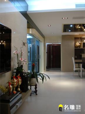 现代 三居 白领 80后 名雕装饰 文艺青年 客厅图片来自杜鸿业----名雕丹迪设计总监在现代风格-140平时尚温馨三居室的分享