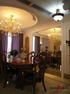 欧式 别墅 公主房 白富美 高富帅 名雕丹迪 别墅装修 餐厅图片来自名雕丹迪在欧式风格-368平宫廷别墅奢华装修的分享