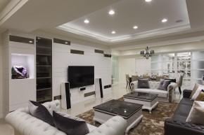 四居 新古典 欧式 白领 白富美 客厅图片来自幸福空间在215m²毛胚屋 画出完美格局动线的分享