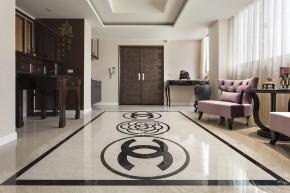 四居 新古典 欧式 白领 白富美 玄关图片来自幸福空间在215m²毛胚屋 画出完美格局动线的分享