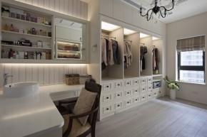 艺术 欧式 4居 白富美 白领 美式 衣帽间图片来自幸福空间在240m²金漆勾勒 传世艺术宅邸的分享