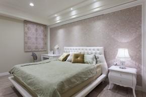 四居 新古典 欧式 白领 白富美 卧室图片来自幸福空间在215m²毛胚屋 画出完美格局动线的分享