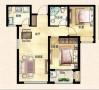 湖岛世家—二居室—田园风格设计