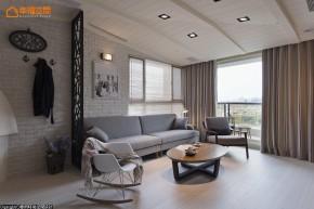 简约 北欧 二居 舒适 温馨 客厅图片来自幸福空间在76m² 实木玩味北欧空间的分享
