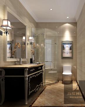 三居 新古典 舒适 卫生间图片来自高度国际装饰韩冰在新古典打造我的家的分享