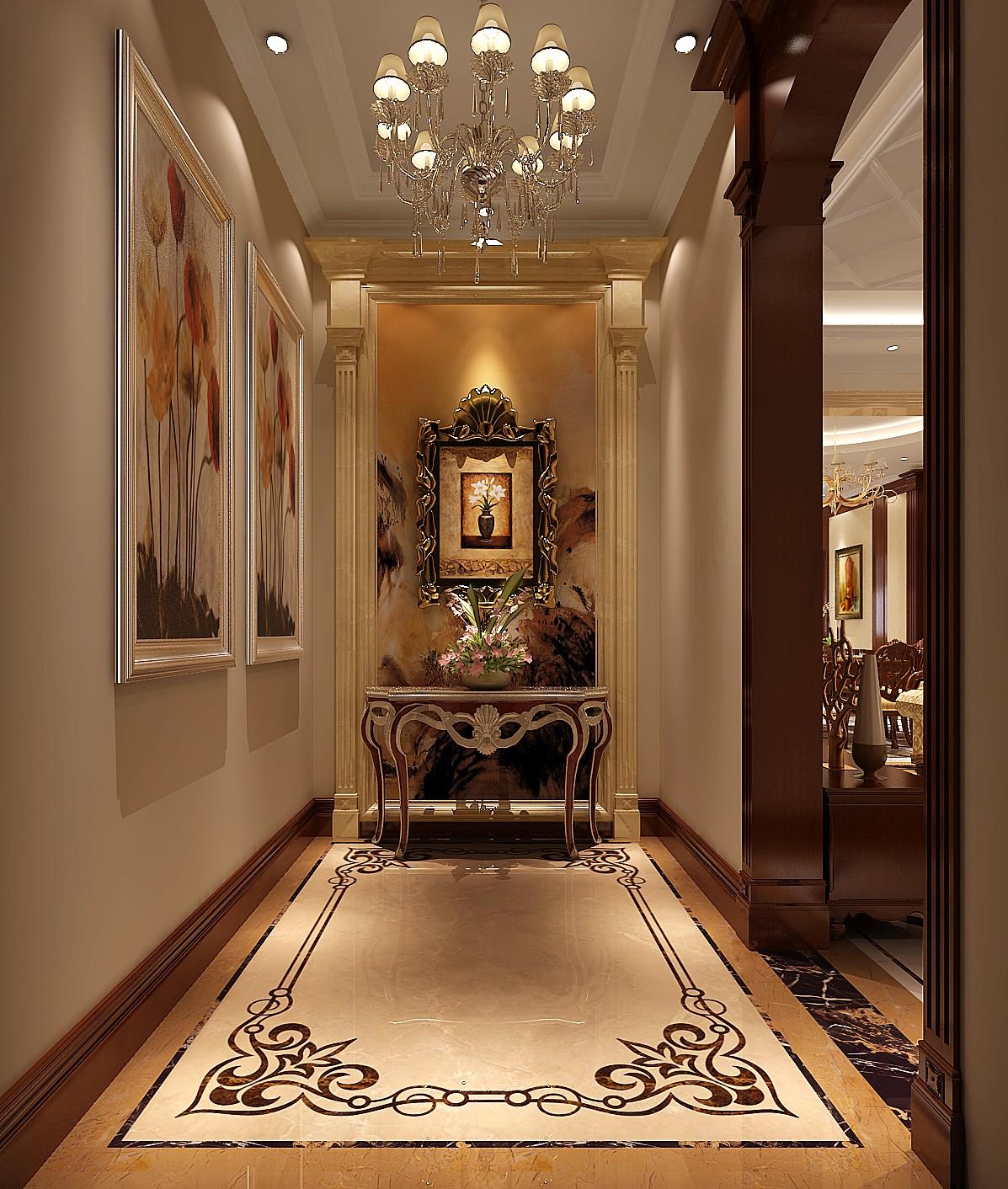 欧式 别墅 其他图片来自专业别墅设计工作室在永定河孔雀城简欧风格别墅案例的分享