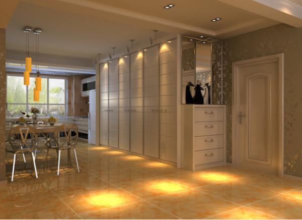 入户玄关柜的设计除了增加美感之外,最重要的就是增加房间的收纳空间。