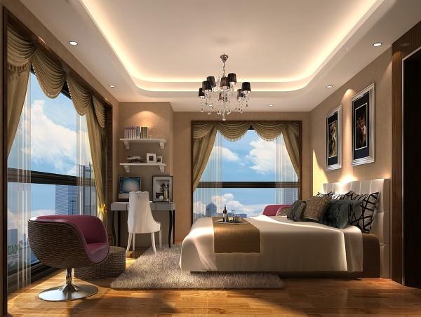 卧室  充分利用自然采光体现空间照明