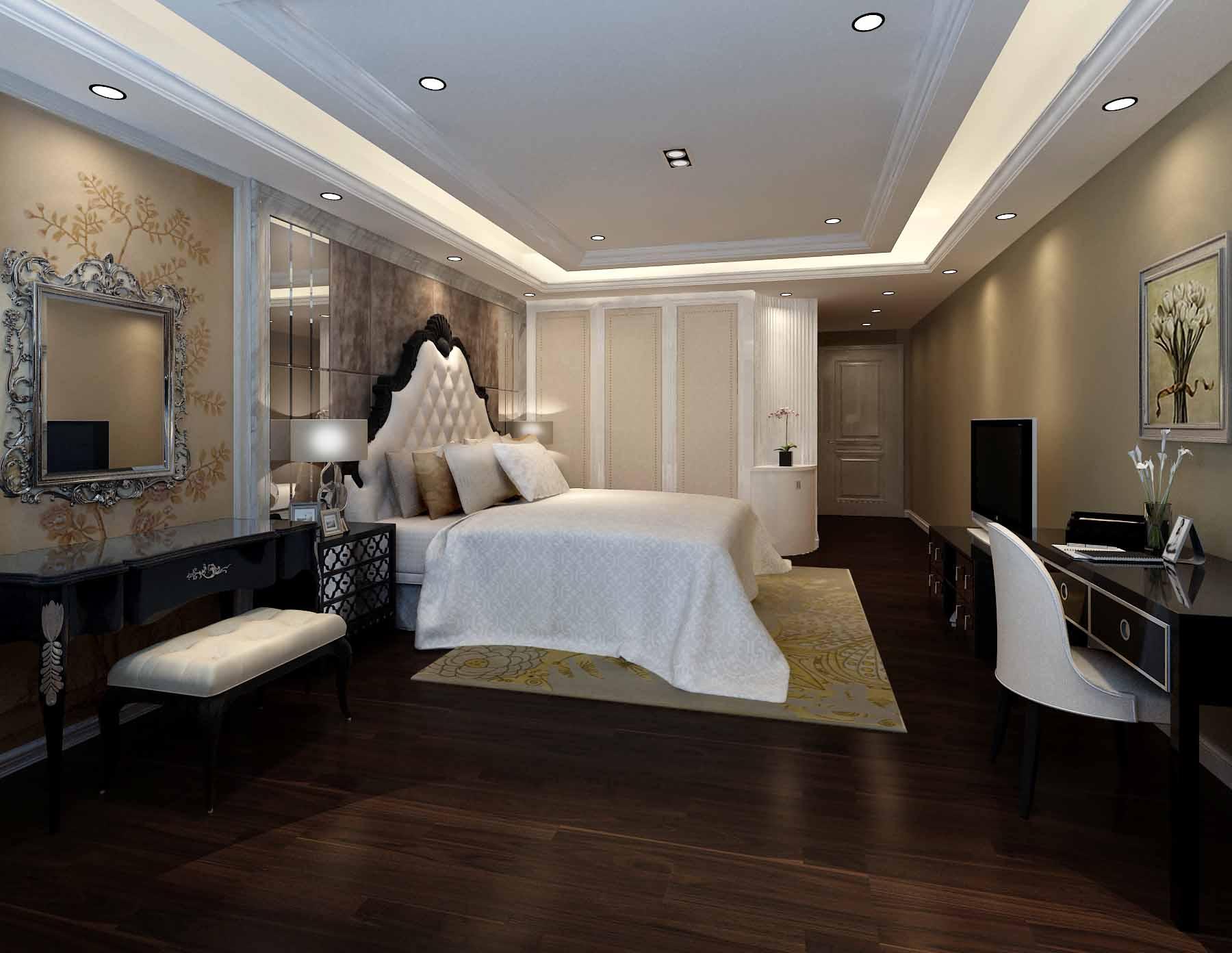 欧式 别墅 卧室图片来自新浪工长俱乐部赵宋芬在美墅的分享