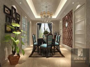 三居 新古典 舒适 餐厅图片来自高度国际装饰韩冰在新古典打造我的家的分享