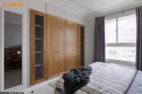 简约 北欧 二居 舒适 温馨 收纳 卧室图片来自幸福空间在76m² 实木玩味北欧空间的分享