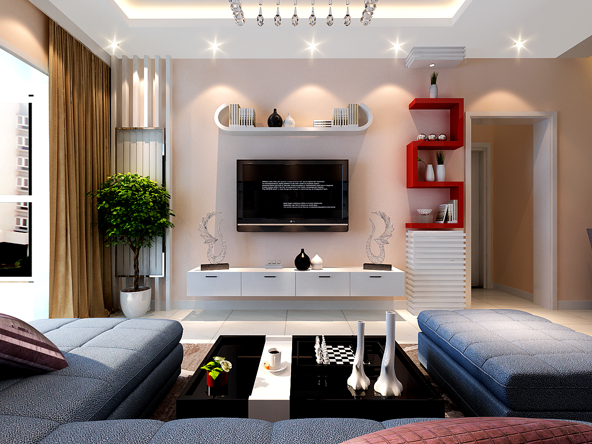 简约 客厅图片来自瑞博文融发装饰李瑞在京铁和园室内装修设计的分享