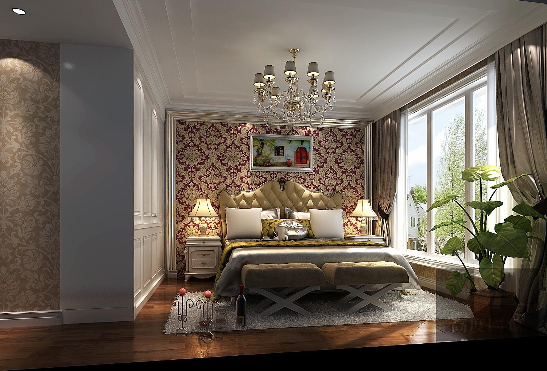 三居 新古典 舒适 卧室图片来自高度国际装饰韩冰在新古典打造我的家的分享