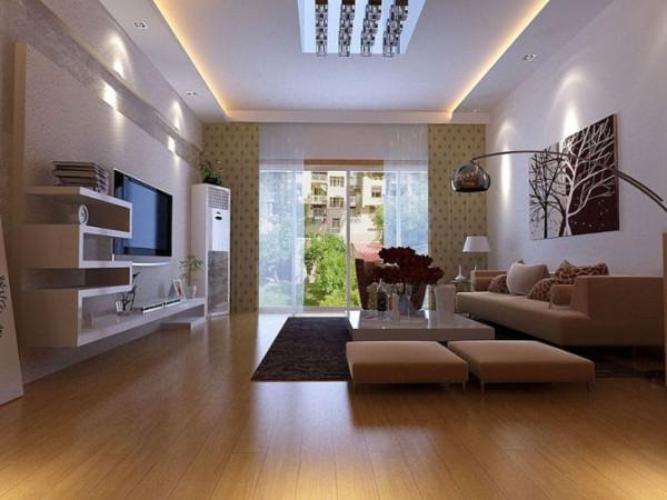 该案例客厅为简约风格主要从强化各个空间的实用性和功能性方面着手,把设计重点放在提升空间的利用率上,力争让每一个空间都不局限于一种功能