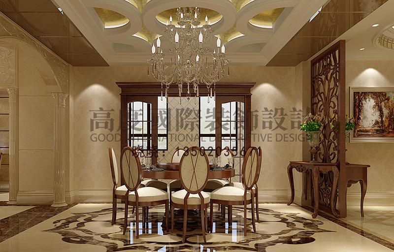 欧式 别墅 小资 餐厅图片来自大小姐在华润中央公园的分享